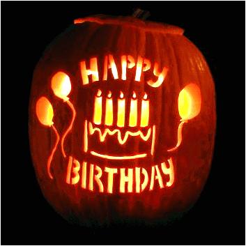 Jack O Lantern Birthday Cake