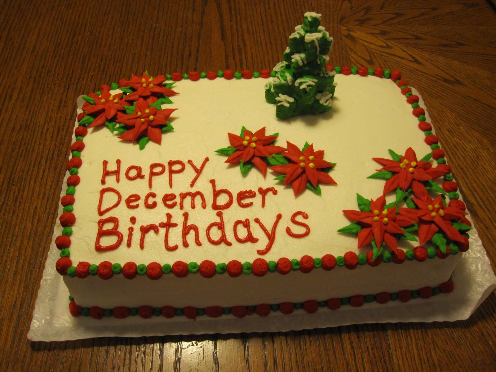 Happy Birthday December Happy Birthday to all the